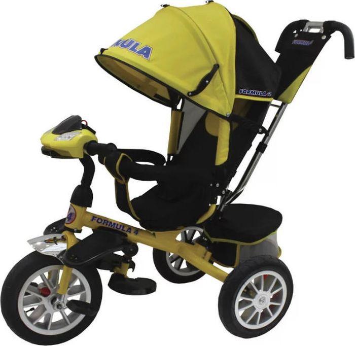 Детский велосипед Formula 4 трехколесный, FA4Y, желтый