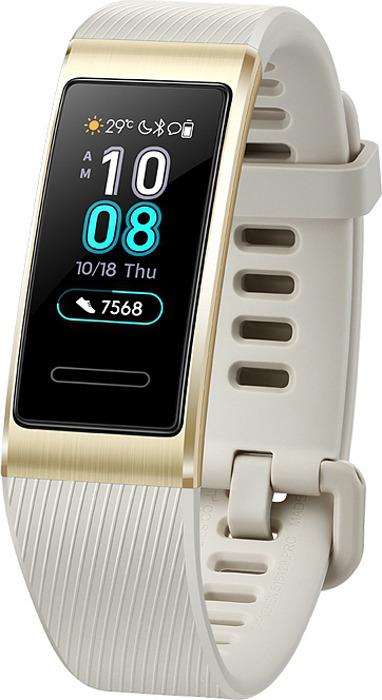 Фитнес-браслет Huawei Band 3 Pro, золотой фитнес браслет huawei band 3 pro черный
