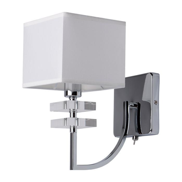 Бра Mw Light 101020101, серый металлик цены