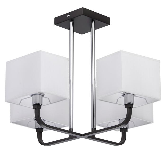 Светильник потолочный MW-Light Прато 4*40W Е14 220 V, 101011904 потолочная люстра mw light прато 1 101010708