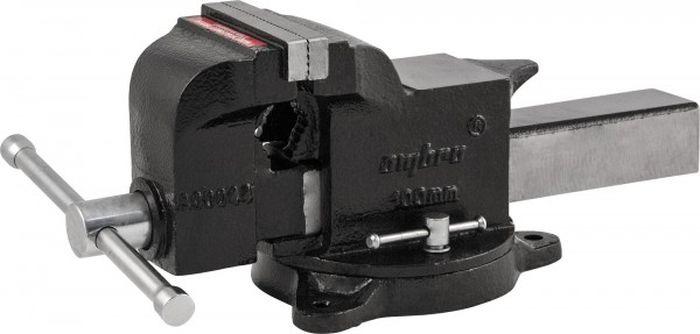 Тиски Ombra слесарные поворотные, A90044, 100 мм насадка ombra 112925