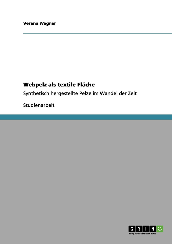 Verena Wagner Webpelz als textile Flache берет pelz