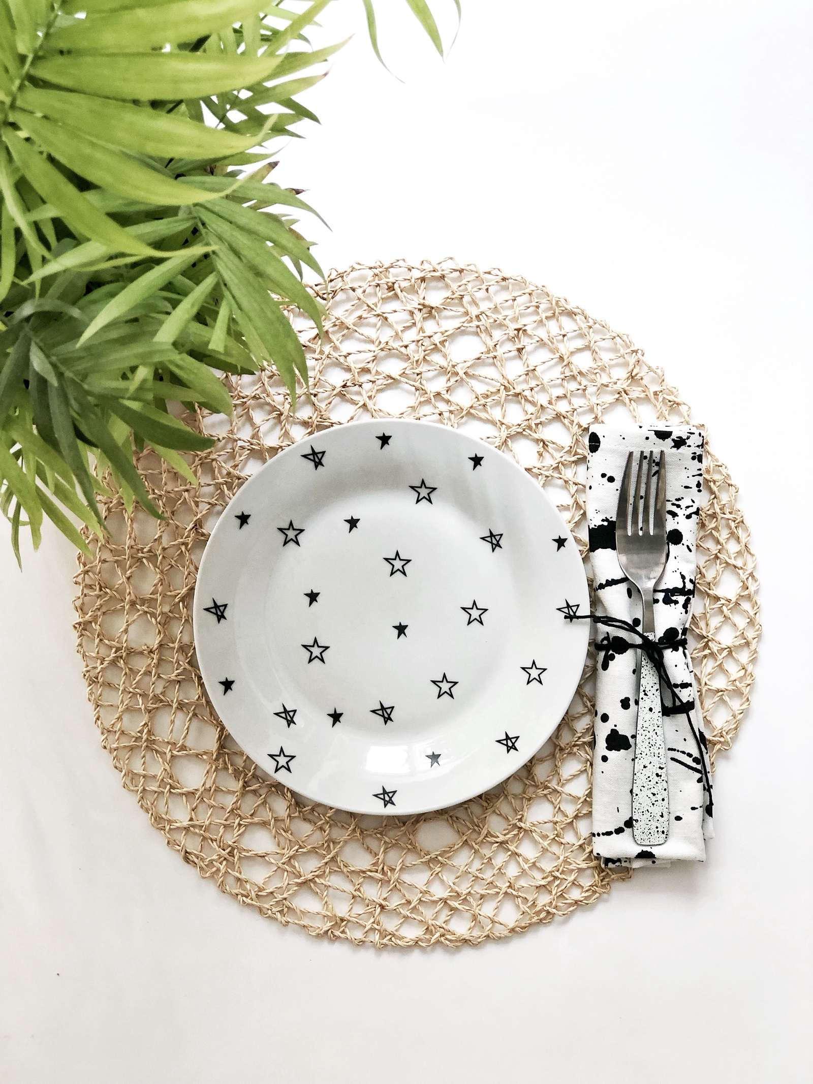 Тарелка Сотвори Чудо Звёзды 20 см, белый тарелка мелкая сотвори чудо бантик sans brides диаметр 20 см