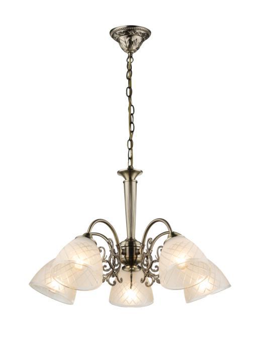 Подвесной светильник Globo New 69013-5H, бронза цена