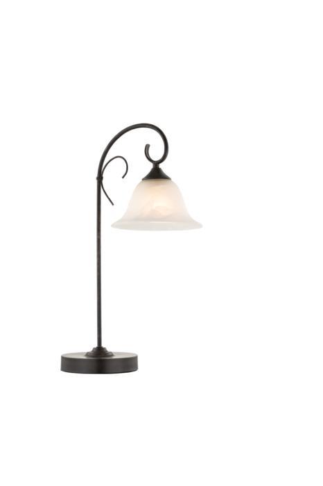 Настольный светильник Globo New 68410-1T, коричневый цена
