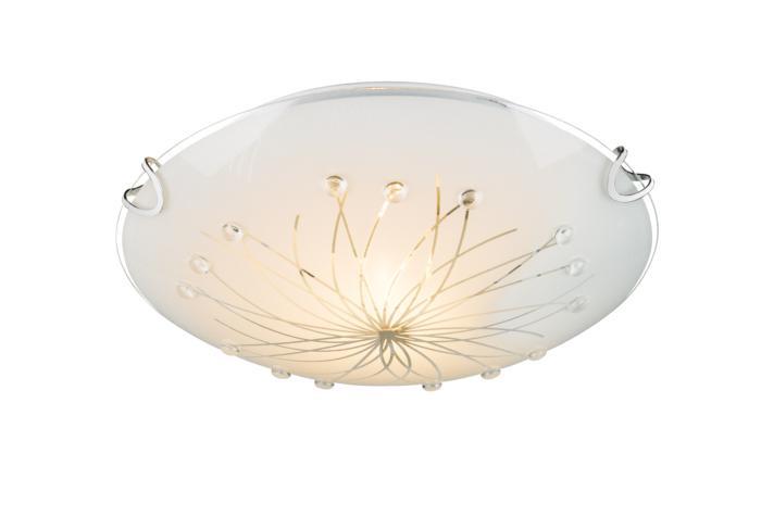 Настенно-потолочный светильник Globo New 40402-1, серый металлик узо tdm sq0220 0009