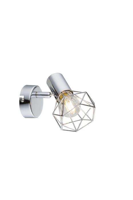 Настенно-потолочный светильник Globo New 54802-1, серый металлик globo спот xara i 54802 2