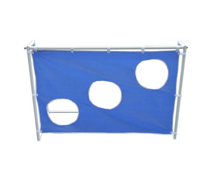 Футбольные ворота DFC складные с тентом GOAL240ST, синий dfc ворота складные с тентом goal240st