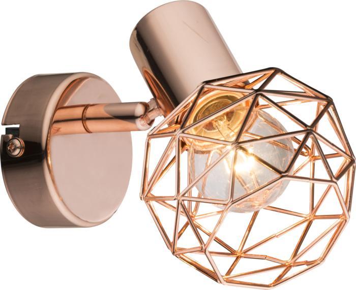 Настенно-потолочный светильник Globo New 54805-1, медь globo 54805 4