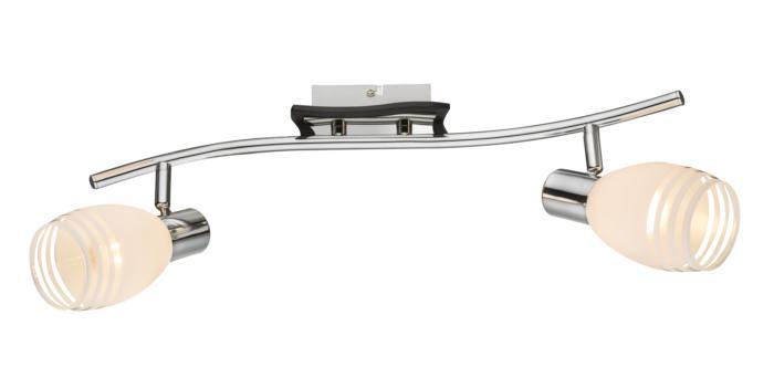 лучшая цена Настенно-потолочный светильник Globo 541010-2, E14, 40 Вт