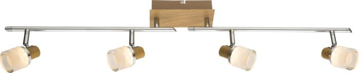 Настенно-потолочный светильник Globo New 56000-4, серый металлик спот globo alonis gb 56000 2