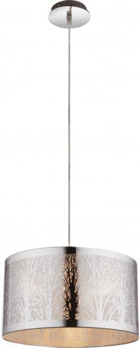 Подвесной светильник Globo New 15085, серый металлик потолочный светильник globo new 0332 серый металлик