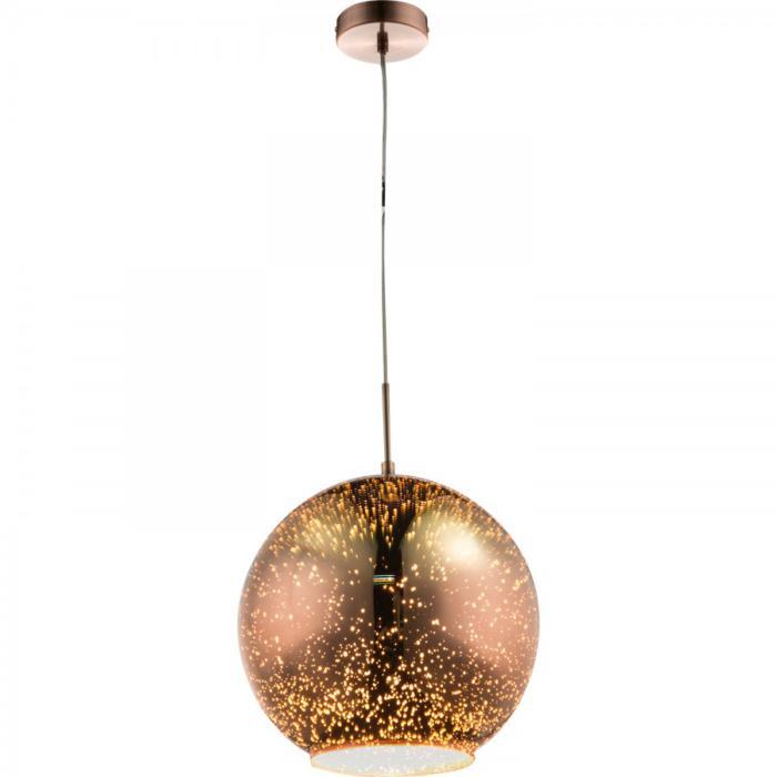 Подвесной светильник Globo New 15848, серый металлик15848Подвесной светильник Globo 15848 серии Koby в стиле арт-деко даст комфортный свет в комнате. Размеры (Диаметр х Высота) 300х1200 мм.