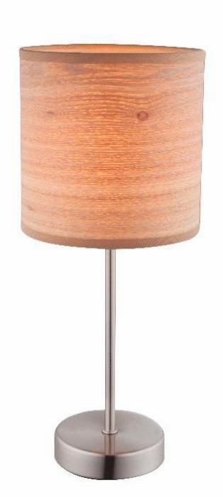 Настольный светильник Globo New 15189T, коричневый настольная лампа globo amy ii 15189t
