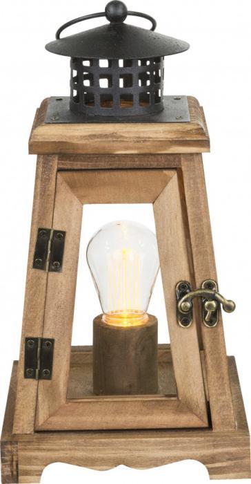 Настольный светильник Globo New 28188, бежевый лампа настольная globo fanal i 28193 16