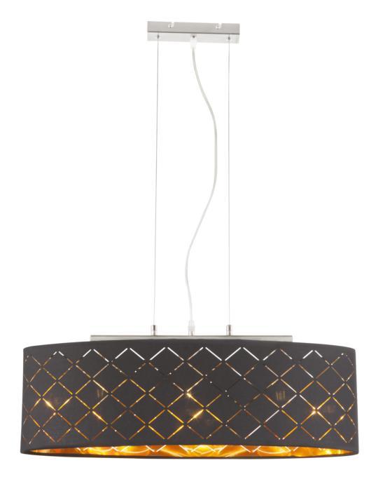 Подвесной светильник Globo New 15229H2, черный светильник подвесной