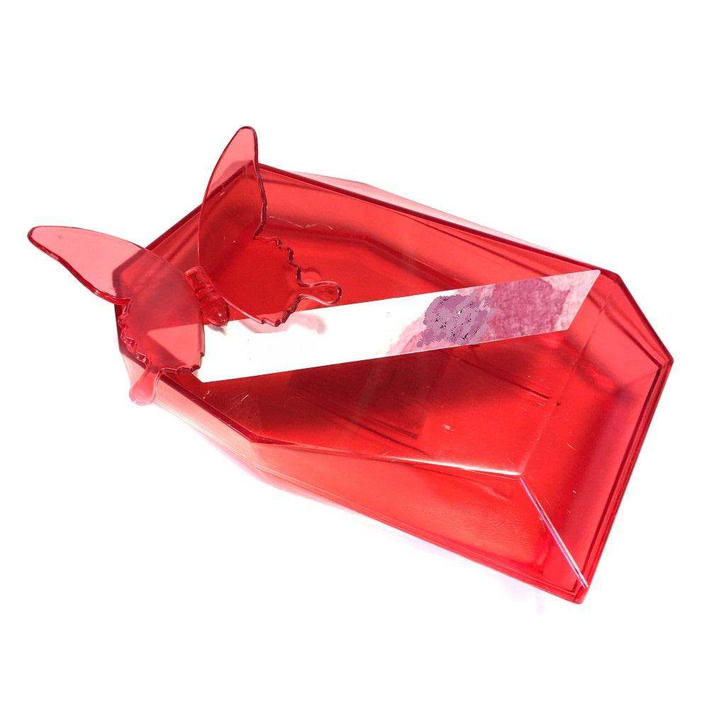 Мыльница Migliores пластиковая, красный