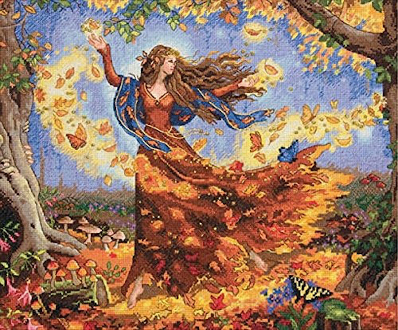 Набор для вышивания Dimensions Fall Fairy