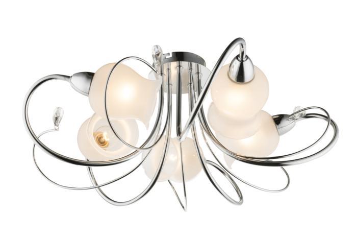 Потолочный светильник Globo 60213-5, E14, 60 Вт люстра globo lilly i gb 60213 5
