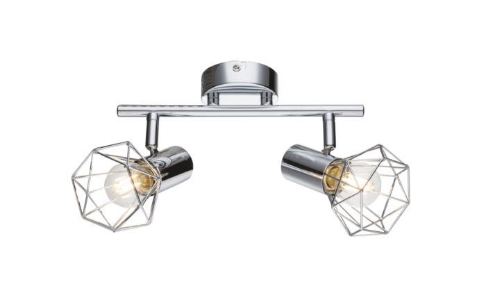 Настенно-потолочный светильник Globo New 54802-2, серый металлик globo спот xara i 54802 2