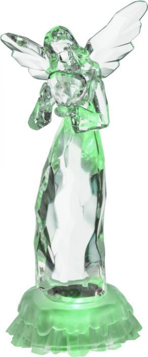 Настольный светильник Globo New 23245, прозрачный настольный светильник globo new 24124 серый металлик