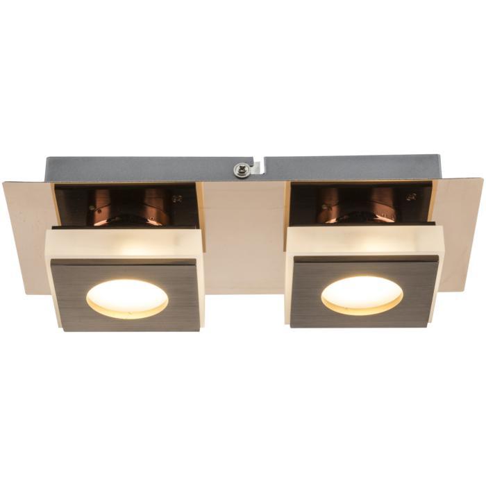 цена на Настенный светильник Globo New 49403-2, бронза