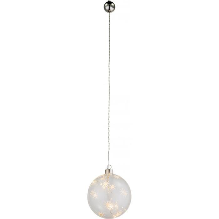Подвесной светильник Globo New 23235, прозрачный подвесной светодиодный светильник globo x mas 23235