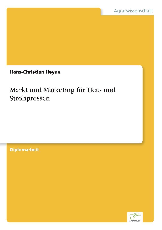 Markt und Marketing fur Heu- und Strohpressen
