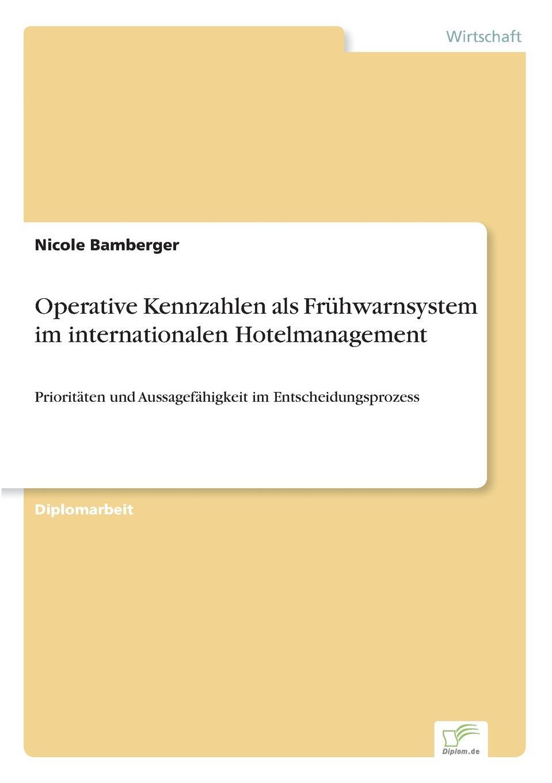 Nicole Bamberger Operative Kennzahlen als Fruhwarnsystem im internationalen Hotelmanagement besser als sex berlin
