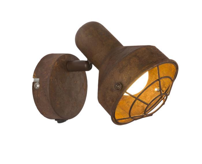 Настенно-потолочный светильник Globo New 54810-1, коричневый globo светильник настенно потолочный