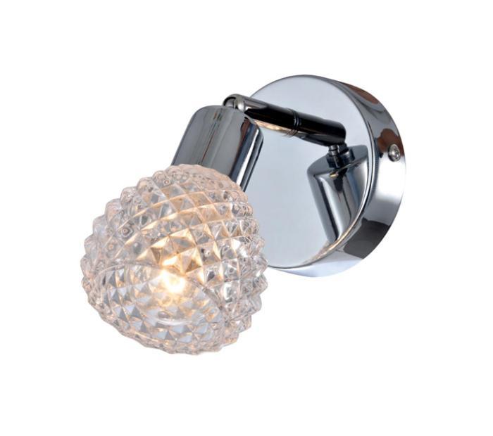 Настенно-потолочный светильник Globo New 541006-1, серый металлик спот globo 541006 3