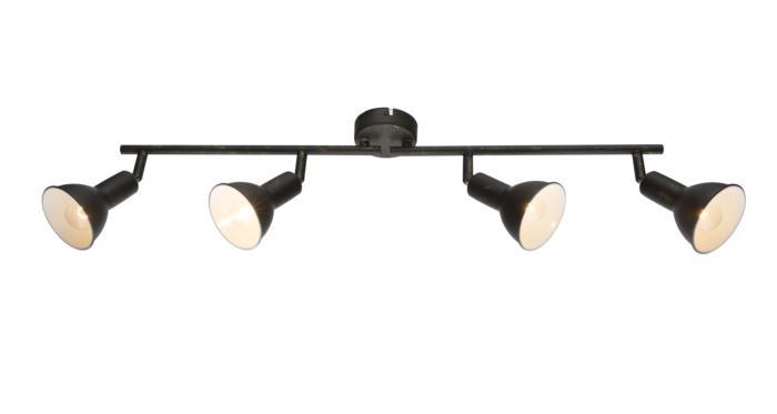 Настенно-потолочный светильник Globo New 54649-4, серый спот globo namus 54649 2
