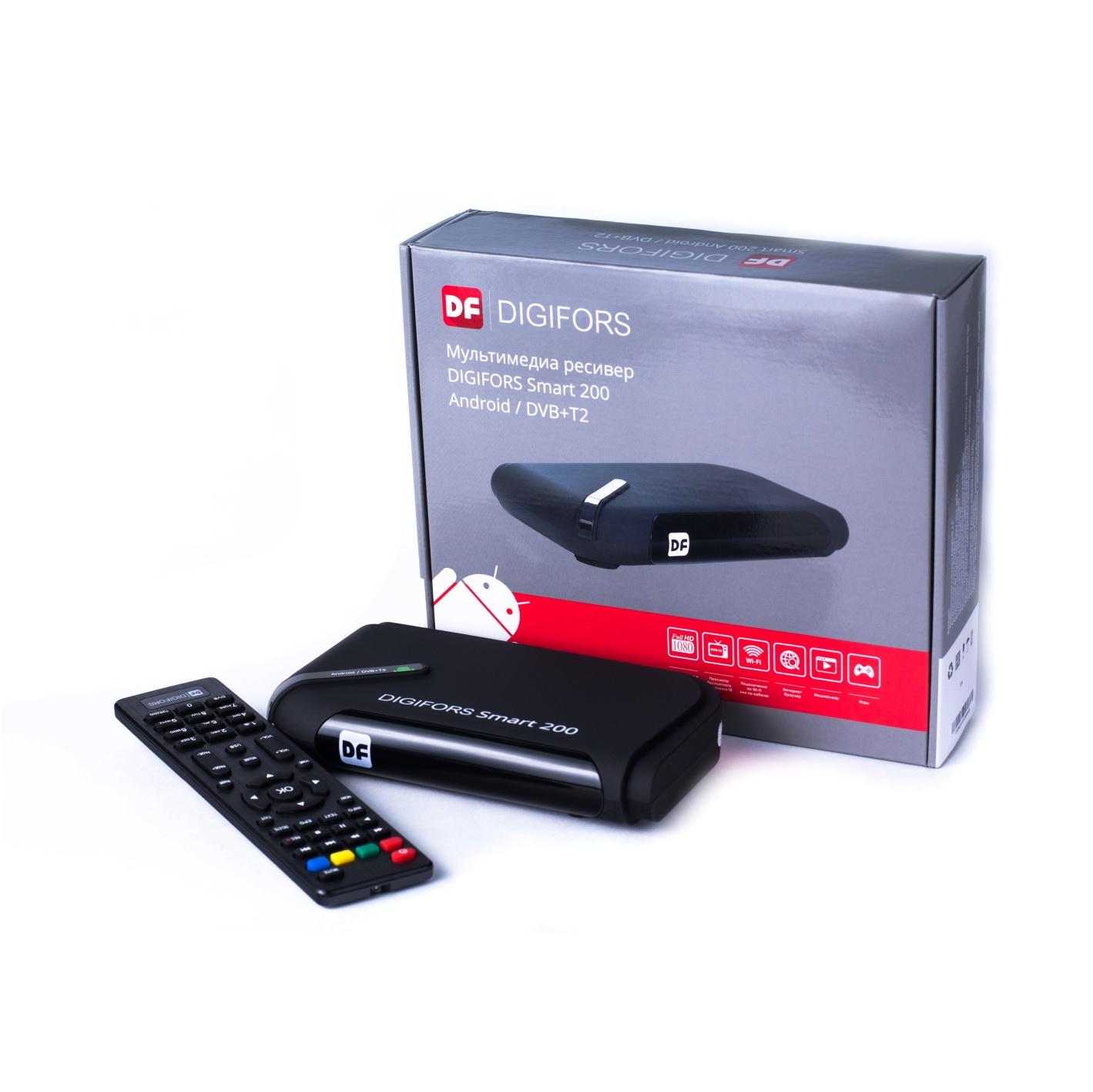 Мультимедиа ресивер DIGIFORS SMART 200 Android + DVB-Т2