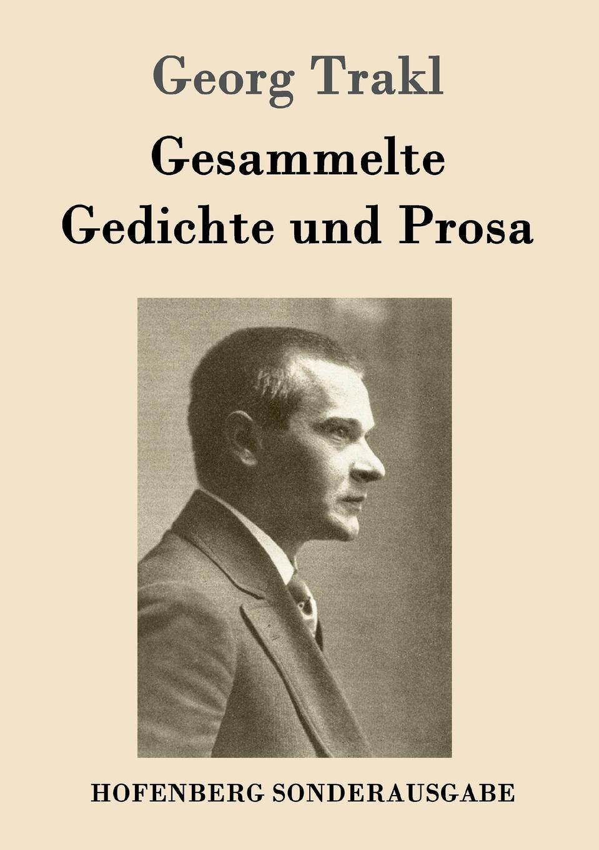 Georg Trakl Gesammelte Gedichte und Prosa killy