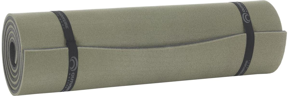 Коврик туристический Outventure Mat, M004Y3, темно-зеленый, 190 х 70 х 1,2 см