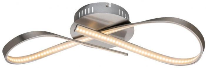 Потолочный светильник Globo New 67001-15, серый металлик force f 67001