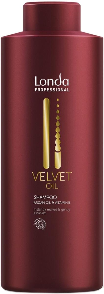 Londa Professional Professional Шампунь Velvet Oil с аргановым маслом,1 л londa velvet oil кондиционер с аргановым маслом 250 мл