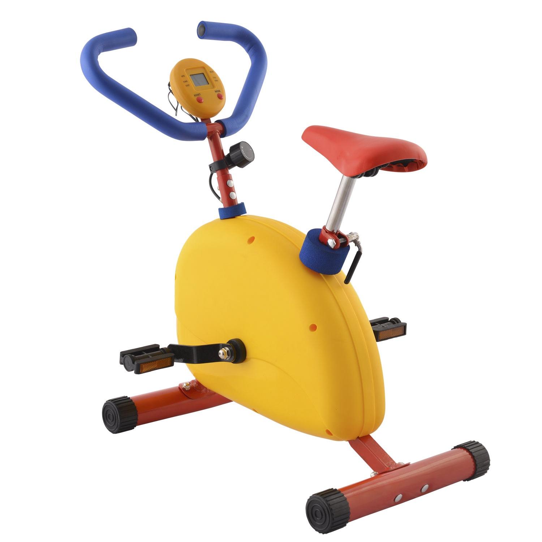 цена на Велотренажер DFC VT-2600, желтый