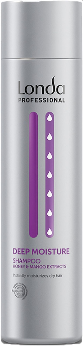 Londa Professional Deep Moisture Увлажняющий шампунь, 250 мл londa professional deep moisture leave in conditioning spray