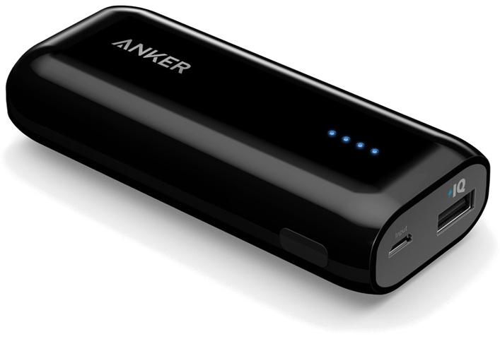 Внешний аккумулятор ANKER Astro E1 6700 mAh, A1211G15, черный цена