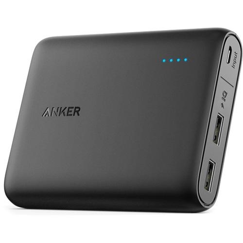 Внешний аккумулятор Anker PowerCore 13000 мАч, A1215H11 внешний аккумулятор anker powercore 13000 мач a1215h11