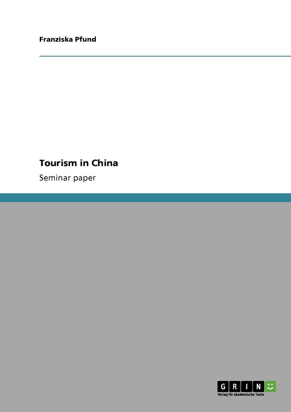 Franziska Pfund Tourism in China цены