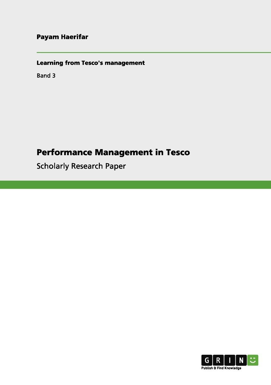 Payam Haerifar Performance Management in Tesco bob paladino five key principles of corporate performance management
