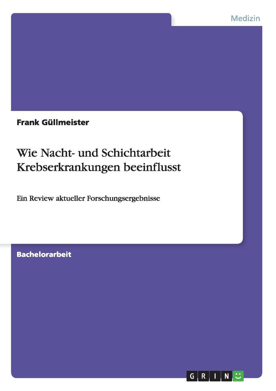 Frank Güllmeister Wie Nacht- und Schichtarbeit Krebserkrankungen beeinflusst gesprach in der nacht