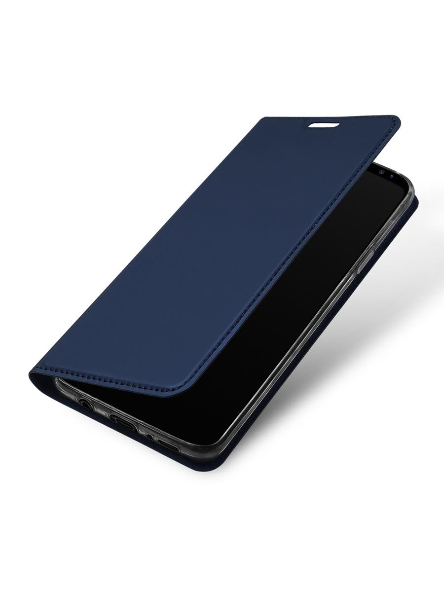 Чехол для сотового телефона DUX DUCIS Samsung Galaxy S9, синий чехол клип кейс deppa для samsung galaxy s9 case silk 1083764 синий 89002