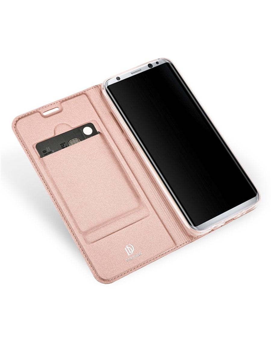 все цены на Чехол для сотового телефона DUX DUCIS Samsung Galaxy S8, розовый онлайн