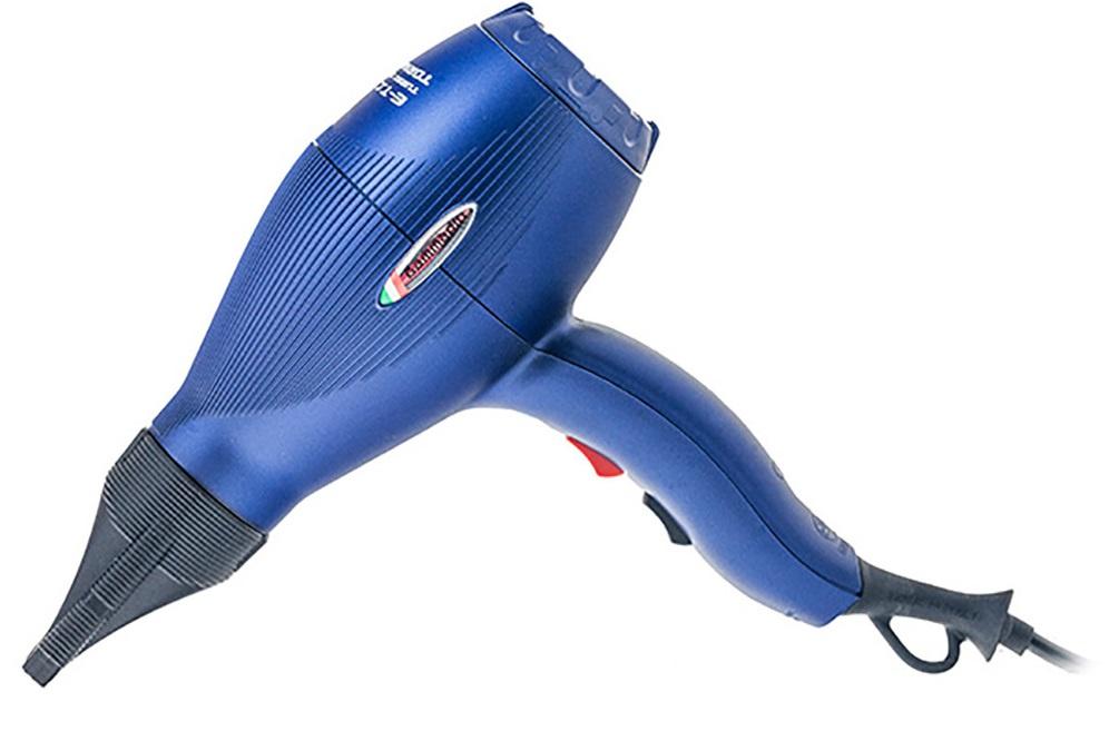 Фото - Фен для волос Gamma Piu E-T-C Light, синий gamma piu фен e t c mini коралловый 1200w