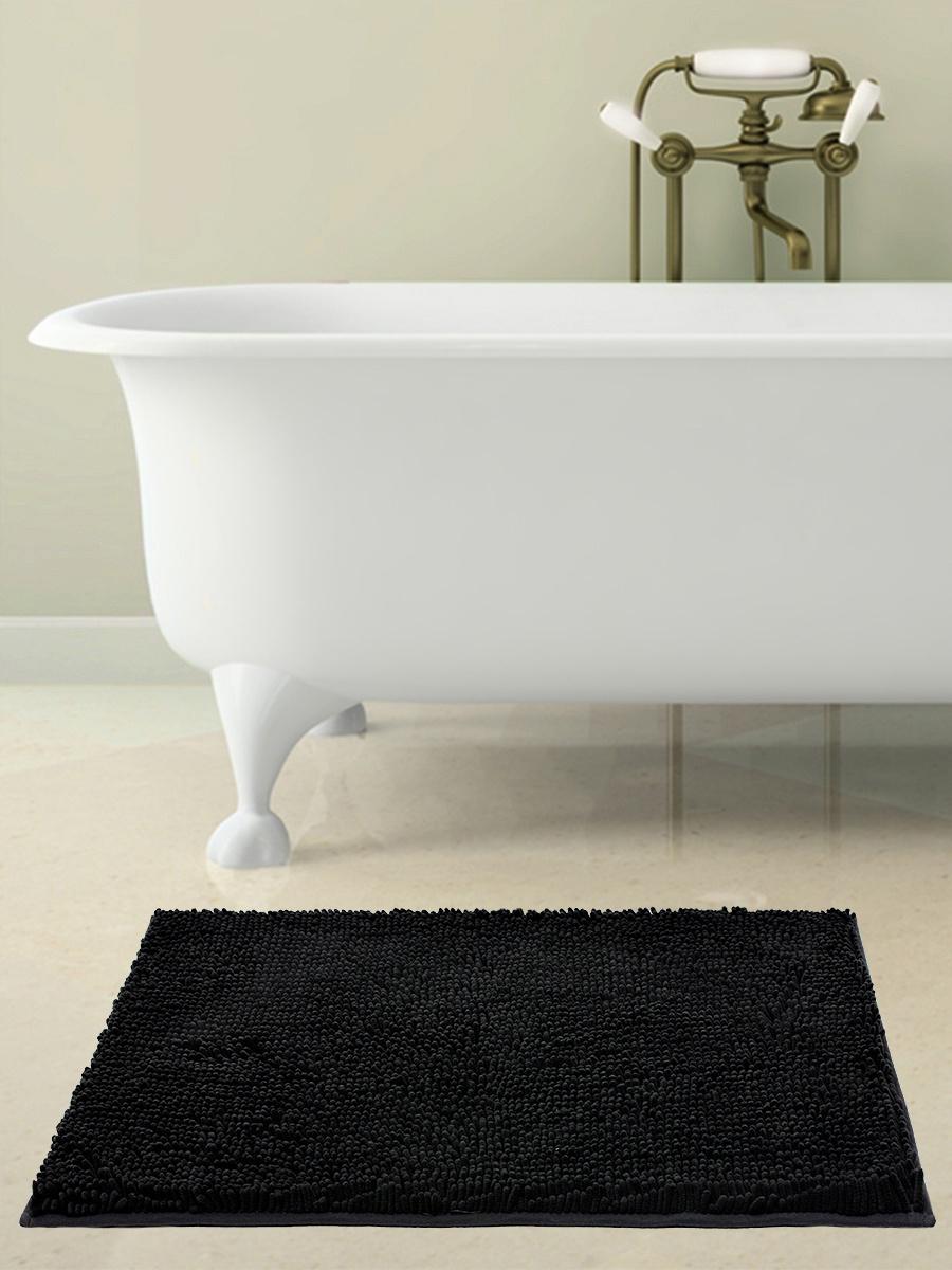 Коврик для ванной BATH PLUS 2565/8, черный