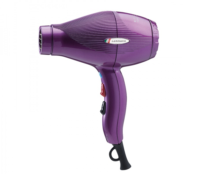 Фен для волос Gamma Piu E-T-C Light, фиолетовый gamma piu фен e t c mini черный 1200w