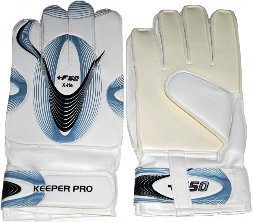 Вратарские перчатки IN-SPORTS Перчатки KP001, белый, серый, черный sparket cool006 перчатки коленного сустава черепные перчатки велосипедные перчатки белый xl xl